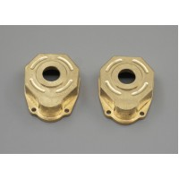 2PCS Heavy Duty Brass Steering Knuckle Portal Cover For Traxxas TRX-4 1/10 RC wholesale only, MK5478