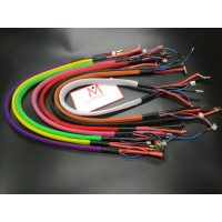 Banana 4.0 to 4/5 bullet colorful charge leads  wholesale only, MK5490