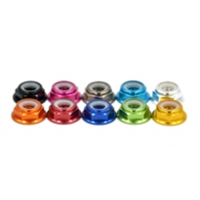 Low profile AL M4/M5/M6 lock nut with nylon inside, different color available  , wholesale only MK5498