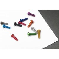 7075 aluminum screw, round head, M3*5/6/8/10/12/14/16, 11 colors optional, wholesale MK5522