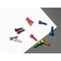 7075 aluminum screw, socket or cup head, M3*6/8/10, 11 colors optional, wholesale MK5523