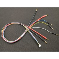 4S charge leads 4.0mm+5.0mm with 3*2mm bullet wholesale only MK5574