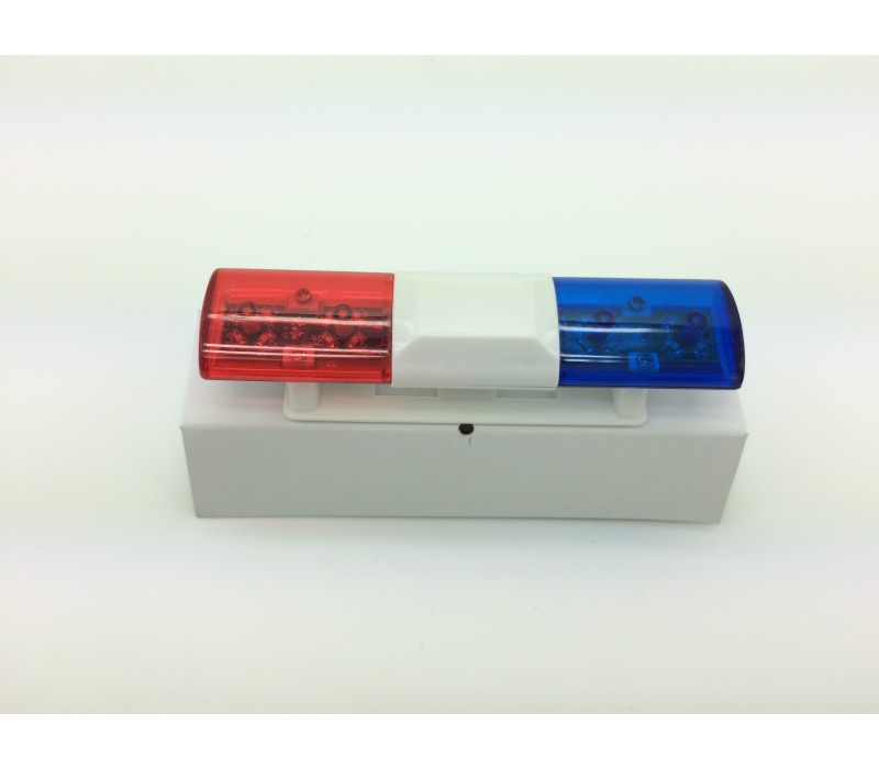 Rc police light bar rotating flashing led red and blue type 1 aloadofball Images