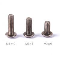 TA2  round head Titanium hex screw M3*6*8*10*12*14, M2*4*5*6 wholesale only