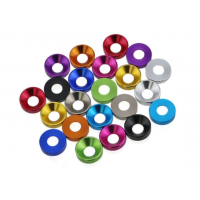 Aluminum screw washer M2,M3,M4,M5 with different color optional MK5404