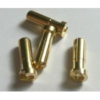 5.0mm bullet Plug (flat type) 1 pcs
