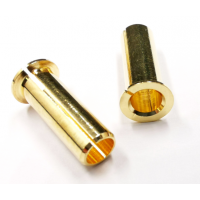 4.0/5.0mm adaptor plug (4.0/5.0 pipe) gold-plated, wholesale only MK5356