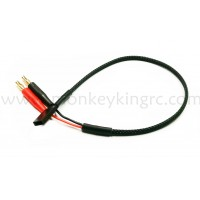 Receiver battery charge leads 4.0+FUTABA female with nylon housing wholesale only MK5579